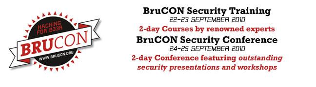 BruCON 2010